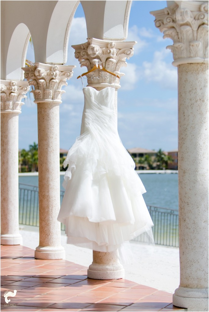 Miromar Lakes wedding florida navy set free photography beach monique lhuillier