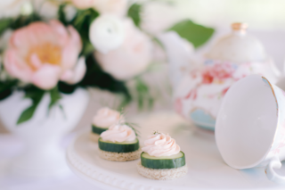 hors d'oeuvres, food photography, white orchid, set free photography, jamie and jacob catering