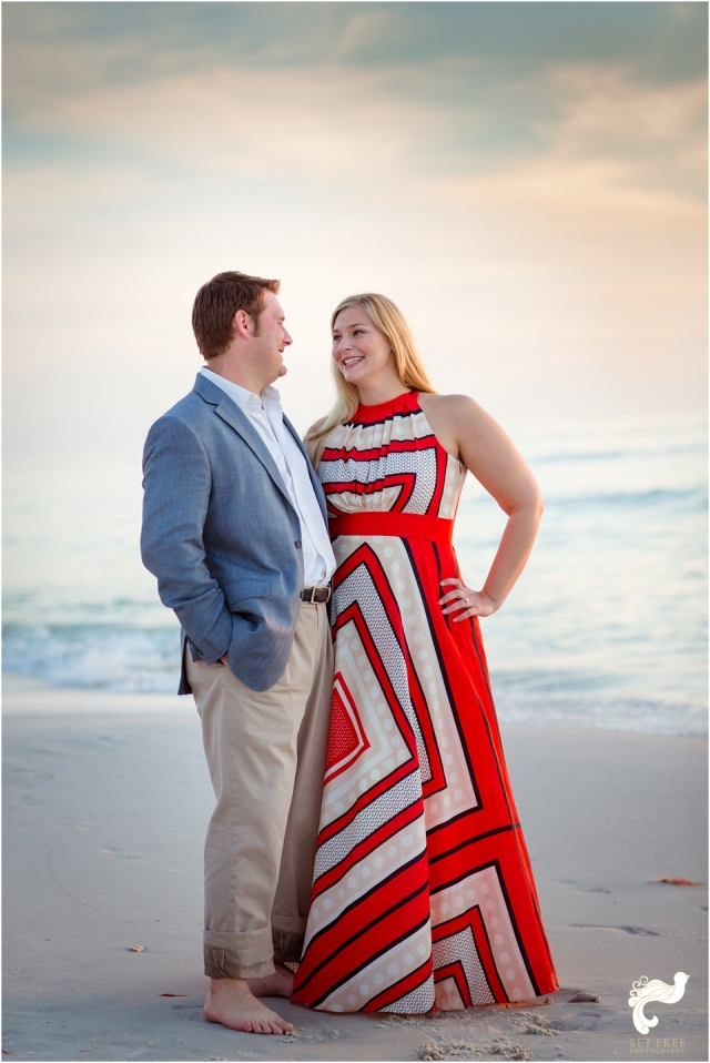 engagement beach naples sunset set free photography florida