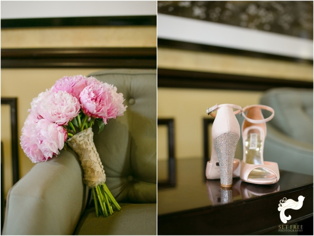 pink sparkly wedding shoes set free photography