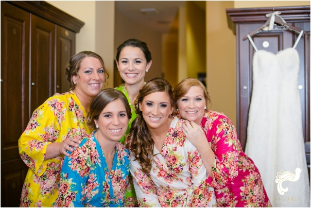bridesmaid robes set free photography naples