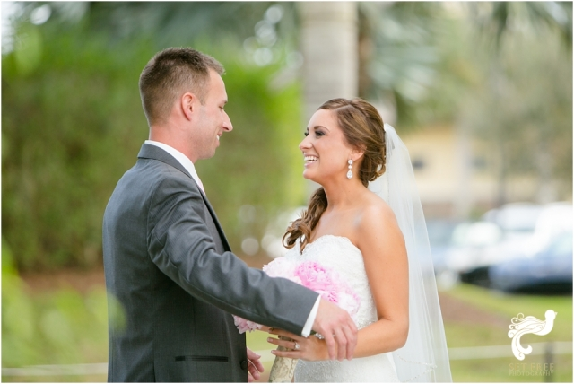 bride groom reveal set free photography naples wedding