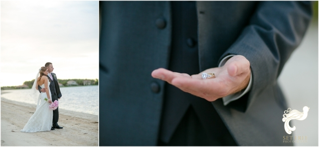 bride groom wedding rings Naples Wedding photographers set free photography