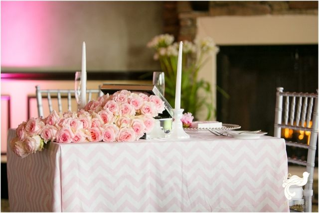 pink grey chevron ceremony Naples Wedding photographers set free photography
